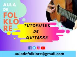 TUTORIALES DE GUITARRA
